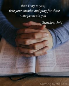 Those who persecute: torture, enslave, rape, and kill Christians. These are our enemies. How can we work toward loving and praying for them? Here is a crucial first step toward these acts of obedience.