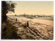 From Wikiwand: New Brighton Pier and landing stage, during the 1890s Irish Sea, New Brighton, Seaside Resort, Sandy Beaches, Cover Photos, Liverpool, Paris Skyline, England, Country Roads