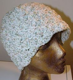 Crochet Geek - Free Instructions and Patterns: Shell Crochet Beanie Hat ... my favorite hat to make!