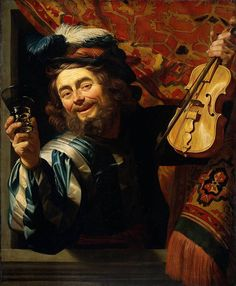 Gerrit van Honthorst - De vrolijke speelman - Gerrit van Honthorst — Wikipédia