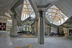 architecture of scottish parliament - Google Search