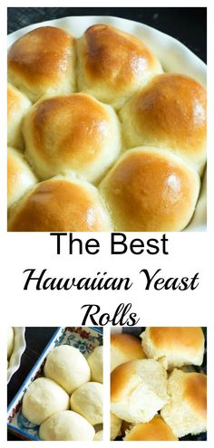 Sep 2019 - Hawaiian Rolls have just a hint of sweetness and are so so fluffy. EASY to make and perfect every time. The BEST yeast rolls you'll ever make. Hawaiian Bread Recipe, Best Bread Recipe, Bread Recipes, Baking Recipes, Hawaiian Recipes, Easy Hawaiian Rolls Recipe, Recipes With Yeast, Hawaiian Bread Rolls, Hawaiin Rolls