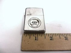vintage Zippo US Fleet San Diego Antisubmarine submarine Warfare Command 1983