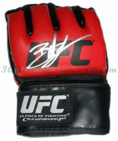 Brock Lesnar Autographed UFC MMA Glove Heavyweight Champion WWE