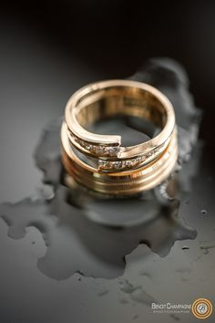 Intertwined love against all life weather Champagne, Wedding Rings, Weather, Wedding Ideas, Engagement Rings, Life, Jewelry, Photography, Enagement Rings