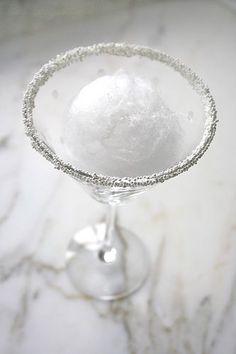 Snowball Martini Recipe...interesting!