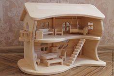 Кукольный дом ручной работы. Ярмарка Мастеров - ручная работа. Купить…