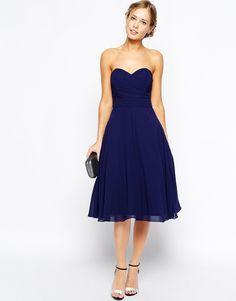 Image 4 ofTFNC Debutante Midi Dress