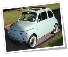 I want to arrive in a Fiat 500 Bella