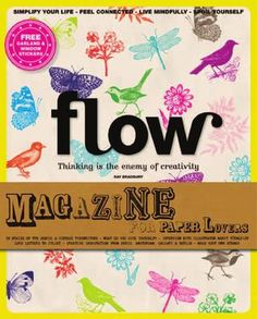 Sneak preview Flow Magazine issue 2 (actually issue 1 but i couldn't pin the image) (the image shown is issue 2)