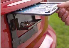 License Plate hide a Key Holder Diversion Safe Secret Stash Hidden Compartment in Home & Garden, Home, Personal Security, Safes | eBay!