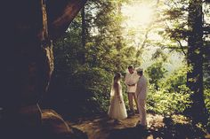 Red River Gorge Outdoor Wedding | Red River Gorge Weddings| Small Destination Weddings
