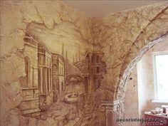 продает Декоративная штукатурка, Роспись стен, барельефы по цене  рублей - отзывы