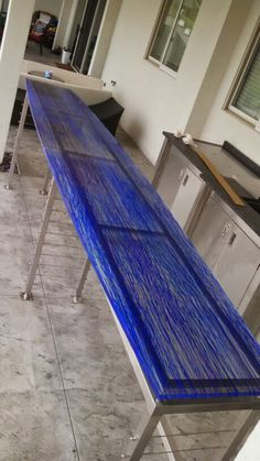 Fused glass countertop by grt glass design