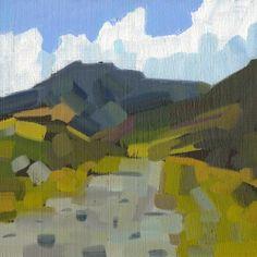 Hares Gap Irish Art Original landscape oil painting
