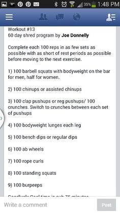 60 day Shred - workout 13