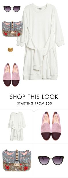 """""""Wilshire"""" by mechi13 ❤ liked on Polyvore featuring Del Toro, Valentino and Black & Sigi"""