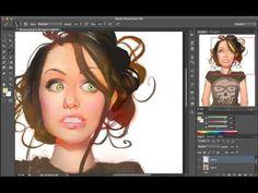 (prev/next) RGD#2 - Florixia Portrait Speedpaint - YouTube