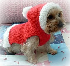 SANTA PAWS Custom CHRISTMAS Dog Sweater -- Hand Made -- Hoodie -- All Sizes on Etsy, $40.00