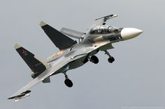 """Russian Air Force Sukhoi Su-30SM """"Flanker-C"""""""