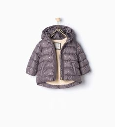 ZARA - KIDS - Quilted star coat
