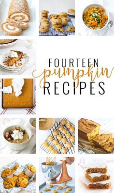 Fourteen Pumpkin Recipes to Satisfy Your Fall Craving | fall pumpkin recipes | pumpkin recipes for fall | fall recipe ideas | pumpkin recipe ideas | homemade pumpkin recipes || Oh So Delicioso