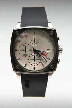 Puma Shade Watch L Silver/Grey - måske ikke helt 80'er men det er da lækkert!