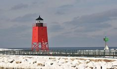 The South Pier Lighthouse is full of rich history for Charlevoix.