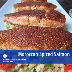 Moroccan Spiced Salmon 1-1/3 Tbsp dark brown sugar 1-1/3 tsp fresh ...