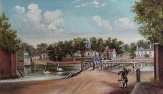 Carshalton in the Year 1820 Old Pictures, Old Photos, Sutton Surrey, Worcester Park, Croydon, Greater London, Art Uk, Photo Credit, Nostalgia