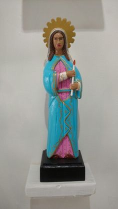Virgen de la Candelaria de Mayagüez por Rosa Irizarry