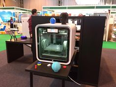 Bringing a hands on #3D #design experience to #TCTShow with #CubePro #3dprinting