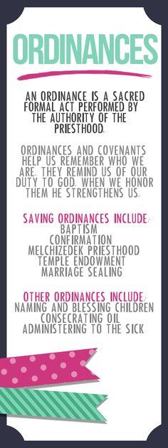 Come Follow Me: Ordinances and Covenants | Lemon & co.