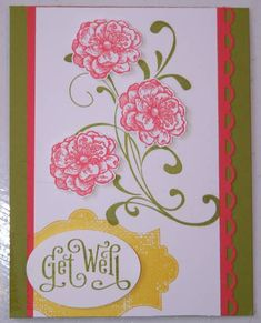 Get Well with Everything Eleanor Cards and Paper Crafts at Splitcoaststampers