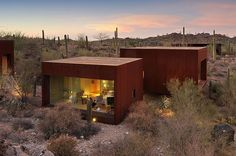 Rick Joy Architects. Desert Nomad House. Tucson. AZ. USA. photos (c) Rick Joy Architects