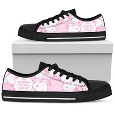 Pink Snoopy - Low Tops