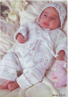 Кофточка, комбинезон и шапочка для малышей. Обсуждение на LiveInternet - Российский Сервис Онлайн-Дневников