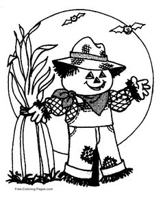 Printable Free Halloween Coloring Sheets And Book Pictures For Kids Ghosts Goblins Pumpkins More These Pages Will Keep
