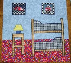 quilt dollhouse rooms - Google Search