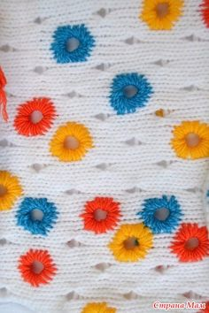""". Маечка """" Полянка"""" - Машинное вязание - Страна Мам"""
