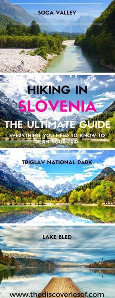Hiking in Slovenia: Travel Tips and Guide Slovenia is a hidden gem when it comes to summer hiking in Europe. Whether you're hiking for 1 day or you can see some of the country's amazing sights – Lake Bled, Triglav National Park, the Julian Alps and Caves Hiking Europe, Europe Travel Tips, European Travel, Camping Europe, Hiking Trips, Travel Guide, Bon Plan Voyage, Slovenia Travel, Visit Slovenia