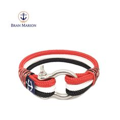 Sailors, surfer, traveler and especially YOU! Fix your style with Bran Marion Nautical Bracelets!