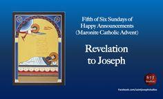 Fifth Sunday of Happy Announcements.   Maronite Catholic Advent.