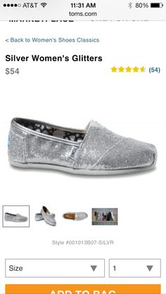 love love TOMS!  My next shoe purchase
