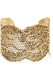 Lace gold-plated cuf