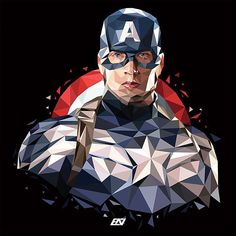 Digital Art Design Low Poly Ideas For 2019 Marvel Art, Marvel Heroes, Marvel Avengers, Marvel Images, Marvel Movie Posters, Avengers Cartoon, Iron Man Wallpaper, Super Anime, Polygon Art