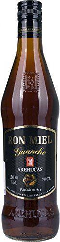 8,16€ - Ron guanche arehucas miel 70cl 20º