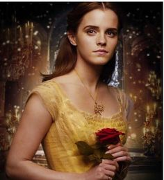 Emma Watson Beauty And The Beast, Beauty And The Beast Movie, Beauty Beast, Bueaty And The Beast, Beast Film, Belle Hairstyle, Emma Thompson, Disney And More, Beautiful Love