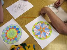 Beautiful geometry doodling, with links to extend the learning. Great fun for all ages!