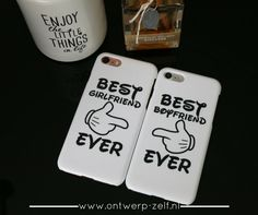 Heb jij ook the best Girlfriend/Boyfriend Ever ?  Verkrijgbaar in glans en mat & voor Apple, Samsung, Huawei en LG telefoons. www.ontwerp-zelf.nl